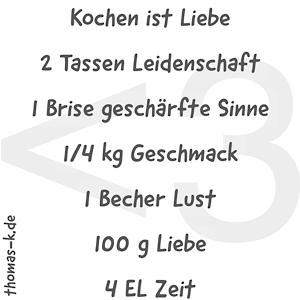 Thomas Krüßmann- Kochen und Genießen