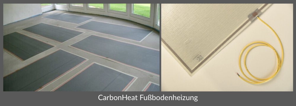 Thomas Krüßmann, CarbonHeat, Produktpalette, Fußbodenheizung