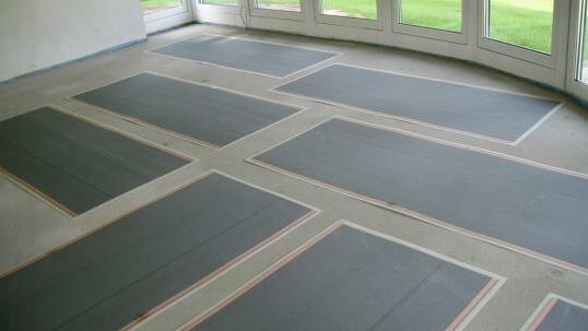 CarbonHeat, Infrarotfußbodenheizung, Carbonheizung als Fußbodenheizung