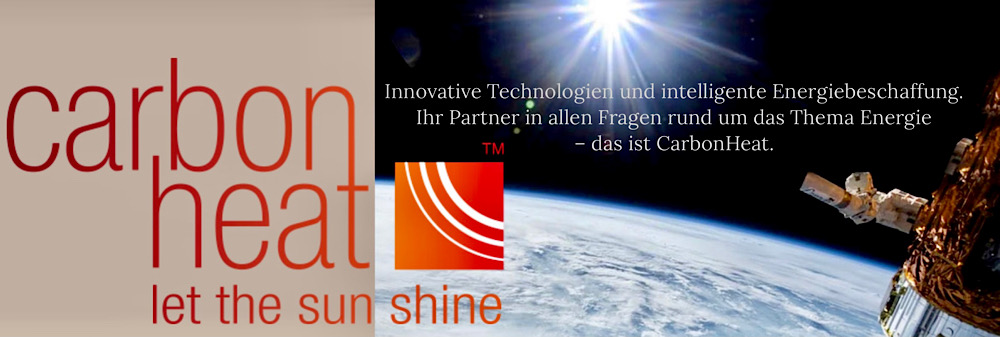 Thomas Krüßmann, CarbonHeat Webseite